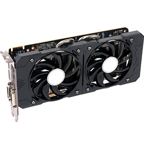BMNN Tarjeta De Video Fit For XFX R9 370 4GB 256bit para AMD Radeon R9 370X 370 4GB Tarjetas Gráficas De 4GB GPU Desktop PC Gaming DisplayPort Gráficos Tarjeta Gráfica