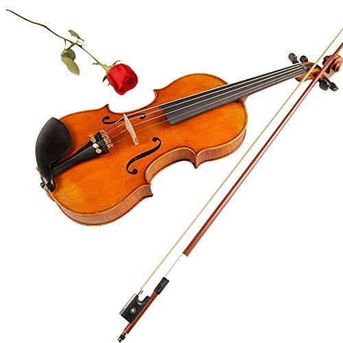 NUYI-4 Alta Gama antigüedades violín de Alta Gama Accesorios Pintura Aceite exposición Caliente Venta Famosa colección de Maestros