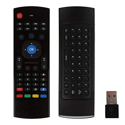 Computer MX3 Air Mouse Wireless 2.4G Telecomando Tastiera con scorciatoie del browser per Android TV Box Mini PC + Altamente raccomandato
