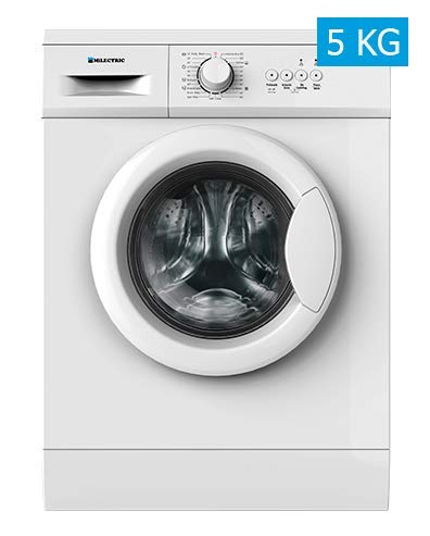 MILECTRIC LV580 Washing Machine Front Load 5kg 800RPM A White Independent Washing Machine Front Load White 23 Programs