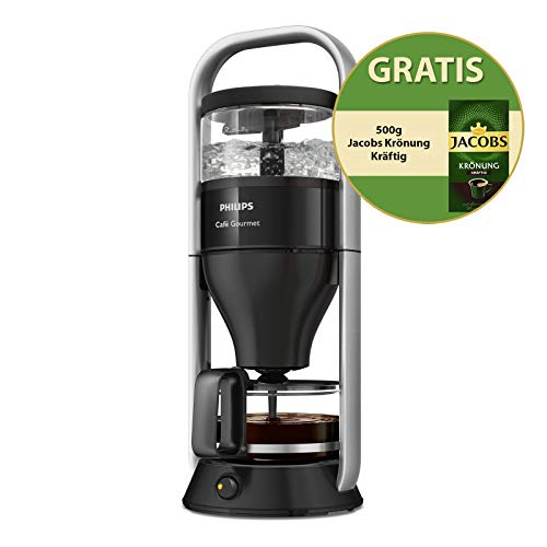 Philips Café Gourmet HD5408/29 Kaffeemaschine Jacobs Edition, schwarz