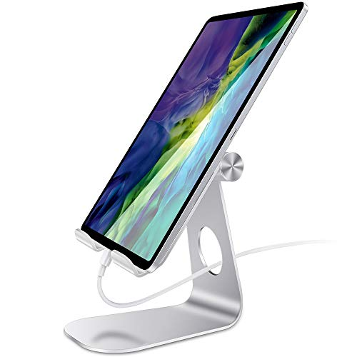 laxikoo Verstellbarer Tablet Ständer, 270°Verstellbare Handy Ständer Universal Handyhalterung, Tablet Halterung kompatibel mit iPad Pro 11/12.9, iPad 10.2, iPad Air, Samsung Galaxy Tabs bis 13 Zoll