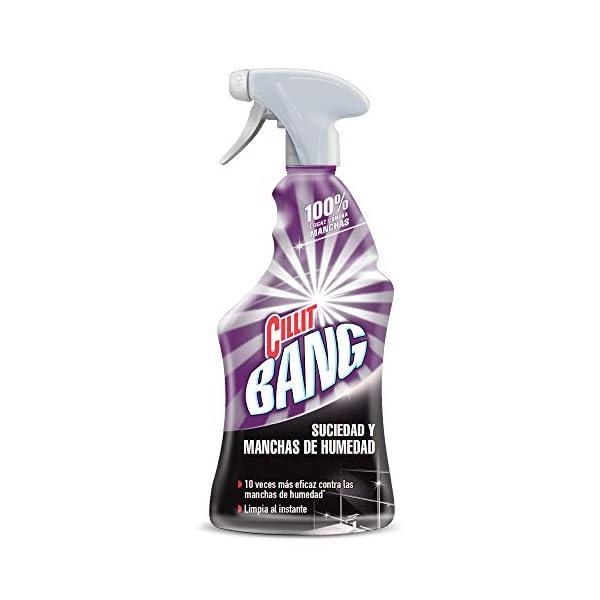 Cillit Bang – Spray Limpiador Suciedad y Manchas de Humedad, para baños y juntas negras – 750 ml (3040445)