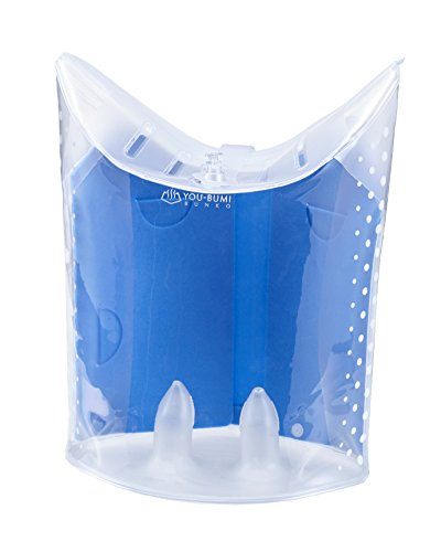 ジェコル 完全防水ブックケース ユウブミ~湯文~ブンコ YB05−BL ブルー