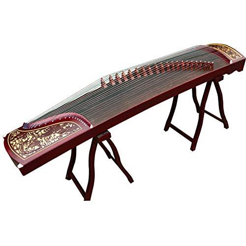 GuanXiao Ethnische Musikinstrumente Zither Paulownia Handgeschnitzte Anfänger Eintrag Prüfungsnote Guzheng Klassische Orchesterinstrument