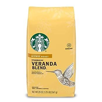 starbucks veranda ground coffee