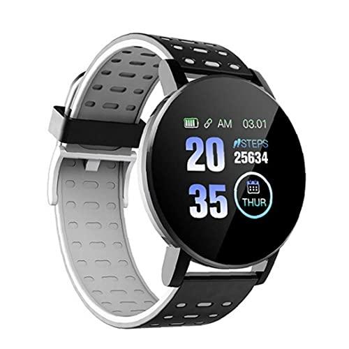 Presión 1pc Bluetooth Smartwatch Hombres Mujeres Sangre Ritmo Cardíaco del Deporte De La Pulsera del Reloj Fiteness Ronda