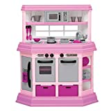 American Plastic Toys Interactive Custom Kitchen Set with 22...