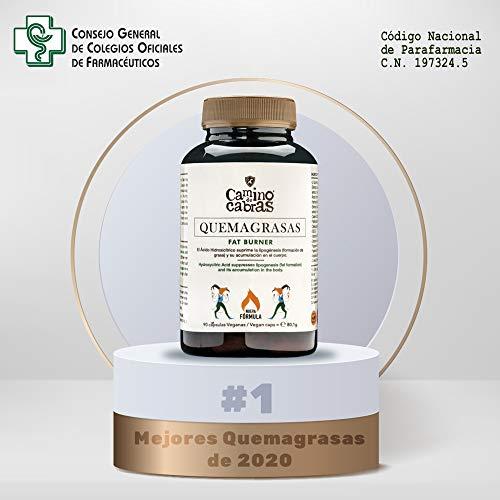 Quemagrasas potente para Adelgazar. Fat Burner de Alto impacto. Antioxidante natural. Nueva Fórmula Registrada con Elevada concentración de activos, Vitaminas y Minerales.