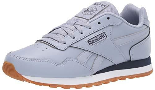 Reebok Men's Classic Harman Run Sneaker, Denim Dust/Heritage Navy/White, 4 M US