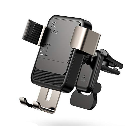 Libobo-001 Tenedor De Teléfono Inalámbrico De 15 W Cargador De Cargador De Infrarrojo Inteligente Soporte De Cargador De Automóvil para Otros Teléfonos Inteligentes