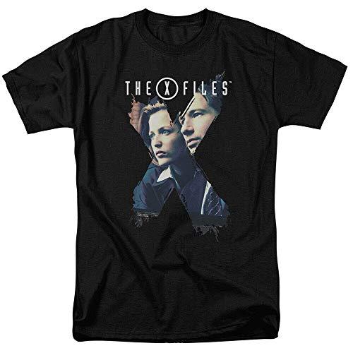 xinfeng X-Files TV X-Agents Men T-Shirt BlackXXL