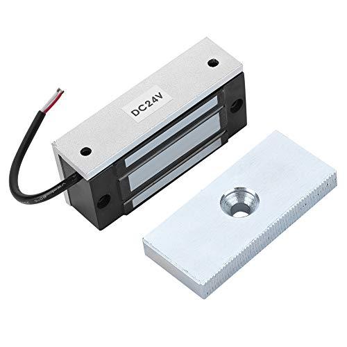 Tosuny Cerradura magnética, 60KG 120LBS DC12V Cerraduras electrónicas Profesionales de electroimán para Puertas de Madera, Puertas de Vidrio, Puertas de Metal, Puertas cortafuegos, etc.