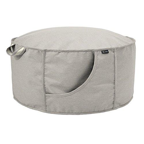 Classic Accessories Montlake Frameless Indoor/Outdoor Bean Bag Ottoman