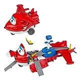 Super Wings- Jett maletín transformable en Aeropuerto, Color surtido (ColorBaby 43976)
