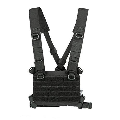 OneTigris ROC Molle Brust Panel Geschirr Taktisches modulares Chest Kit Platform