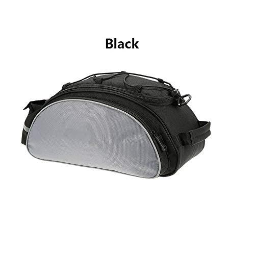 SDGDFXCHN Fahrradträger Tasche, 13L wasserdicht Radfahren Rücksitz Cargo Bag MTB Rennrad Gepäckträger Handtasche