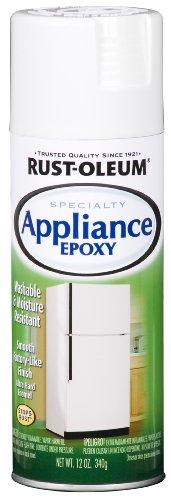 12 Oz Gloss White Appliance Epoxy Enamels Spray Paint [Set...
