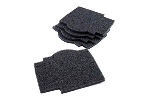 vhbw 5x Filter passend für Lunos Silvento Abluftgerät Lüftungsgerät Badlüfter - 191 x 166 mm - Ersetzt 2/FSI-R, 039 721 - (5er Pack) Zubehör