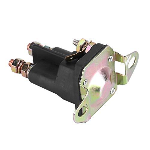 YILUFA Cortacésped Interruptor magnético 3 poste solenoide de arranque universal 12 V para MTD 109946 1753539 146154 AM138497 (33-331)