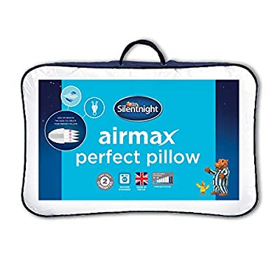 Silentnight Airmax Perfect Pillow, White, 74 x 48cm