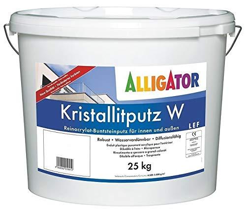 Alligator Kristallitputz W Buntsteinputz 25 Kg Farbwahl, Farbe:Farbton 610