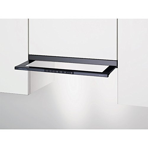 Electrolux: Flachschirmhaube, Abluft, Schwarz, DASL8230SW
