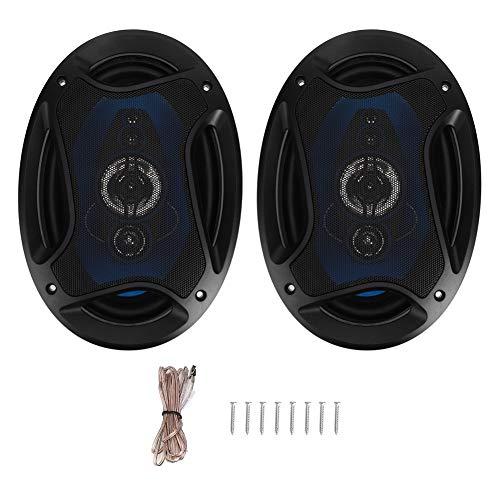 Qiilu Altavoces coaxiales para Coche, par 6x9in 1000W de Altavoces Auto coaxiales de o estéreo de Alta fidelidad para automóvil Altavoz TP-6971