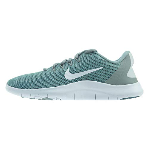 Nike Women's Flex RN 2018 Running Shoe Mica Green/White/Light Silver Size 10 M US