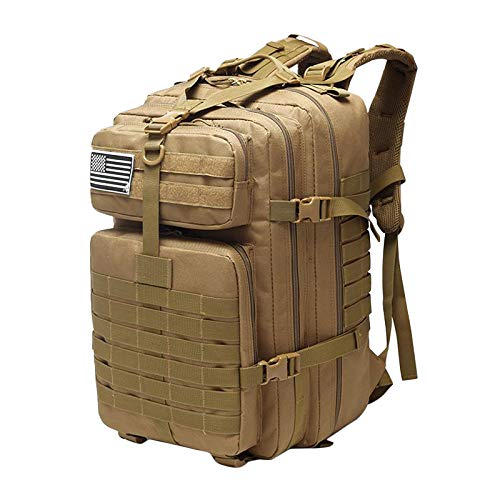 50L Military Tactical Backpacks Molle Army Assault Pack 3 Day Bug Out Bag...