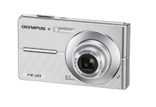Olympus FE-20 Digitalkamera (8 Megapixel, 3-fach opt. Zoom, 2,5