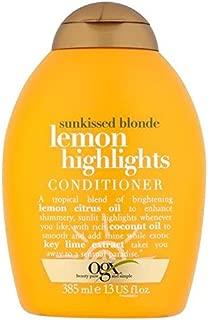 Ogx Blonde Lemon Highlights Conditioner 385ml (PACK OF 2)