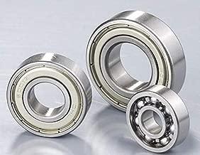 Zamtac 5pcs Deep Groove Ball Bearing 6004ZZ/2Z 20X42X12 Bearing Steel High Speed Precision Motor Bearings - (Size: SKF)