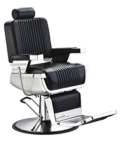 Sillón De Corte Peluquero, Barbería, Barbero Peluquería A-02 – Negro