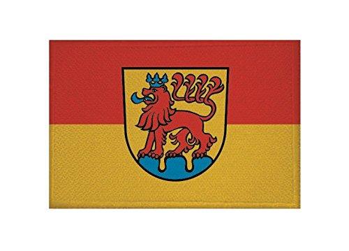 U24 Aufnäher Calw Fahne Flagge Aufbügler Patch 9 x 6 cm