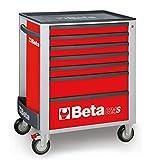 Servante BETA C24S - 7 tiroirs Rouge