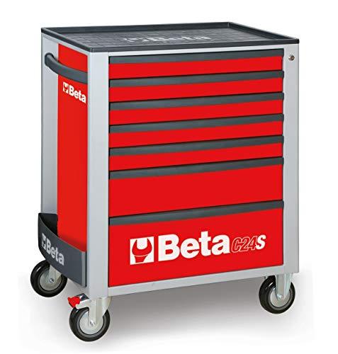 Beta C24S/7-R - Werkzeugwagen mit sieben Schubladen