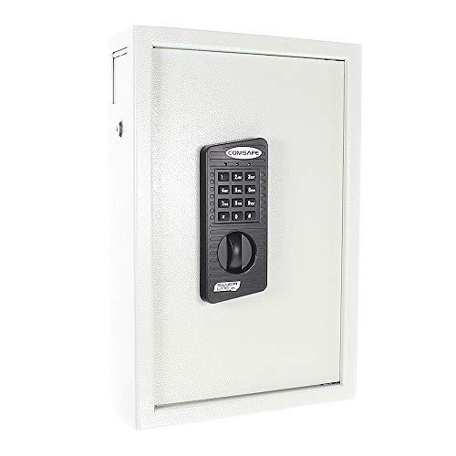 HomeDesign Key HDK-48 Schlüsseltresor, Elektronikschloss, Einwurfschlitz, Code-Umstellmöglichkeiten, Notöffnung
