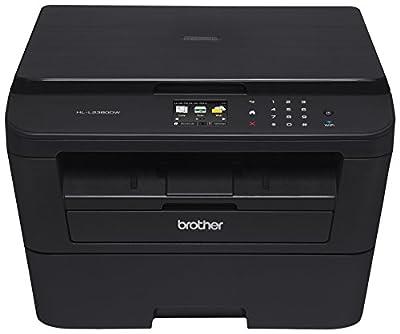Brother HL-L2380DW Wireless Monochrome Laser Printer