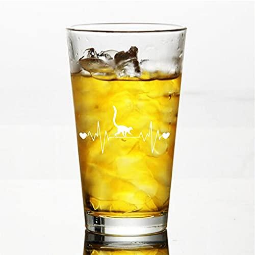 Lemur Lifeline - Copa de vino sin tallo, vaso de whisky grabado, perfecto para padre, mamá, niño o amiga