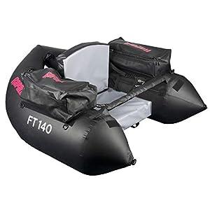Ft140 Belly Boot von Rapala Schwarz Matt 130 cm