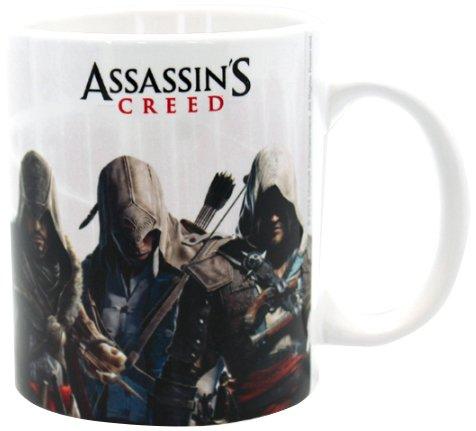 Assassins Creed 320ml Heroes Becher, Mehrfarbig