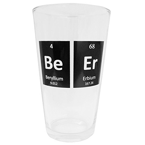 Smart Mugs Periodic Beer Glass