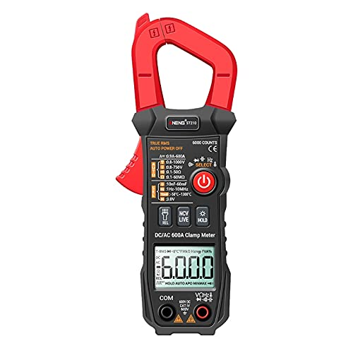 AbnanaST210 New Shipping Free Shipping True RMS Multimeter Clamp Meter Curre AC 600A Sales of SALE items from new works Amp DC