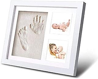 Kit de Marco de Huellas de Mano y pie de beb/é Regalos /Únicos para el Reci/én Nacido y Fiesta de Bienvenida al Beb/é #1 Joyeee Marco de Fotos para Beb/é 3D Marco de Huellas para Ni/ños