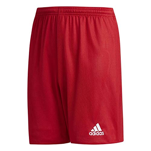 adidas Parma 16 Shorts Short Mixte enfant, Rouge (Power Red/White), L (Taille Fabricant: 152)