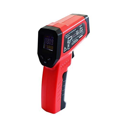 OBEST Registrador de Temperatura Portátil Inteligente Eectrónico de Alta Precisión, 55 ° -550Termómetro Digital sin Contacto, se Puede Utilizar en la Industria,Medición deTemperatura Interior, Rojo