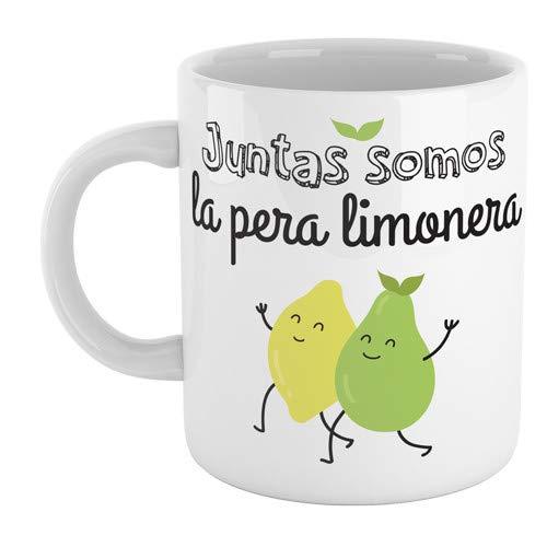 SUPERMOLON Taza'Juntas somos la pera limonera'