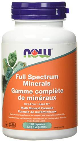 NOW Full Spectrum Minerals 120 Veg Capsules, 50 g