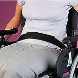 Patterson Medical - Cinturón con velcro para silla de ruedas